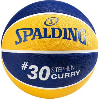 Spalding NBA Stephen Curry Basketball Herren gelb / blau
