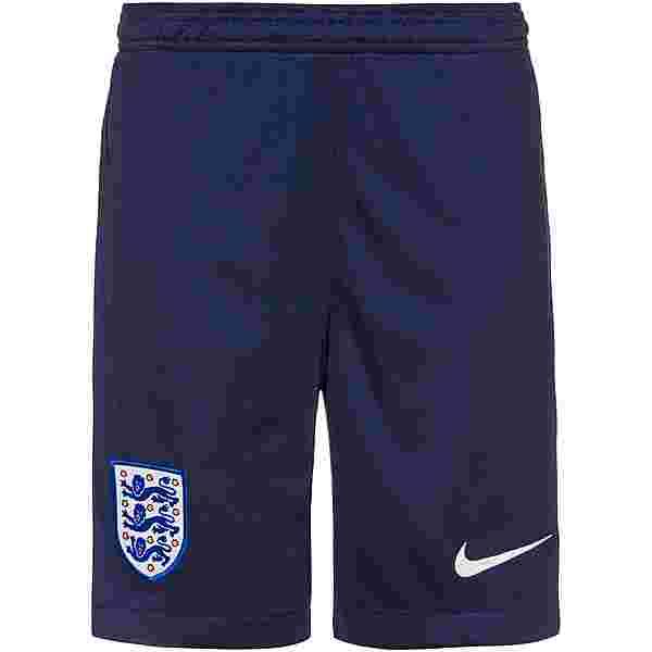 Nike England 2021 Heim Fußballshorts Kinder midnight navy-white