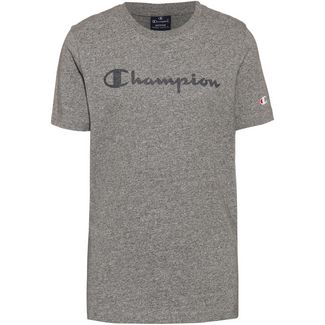 CHAMPION T-Shirt Kinder graphite grey melange jaspè yarn dyed