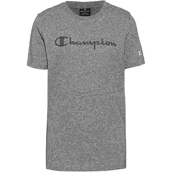 CHAMPION T-Shirt Kinder graphite grey melange jaspè yarn dyed