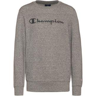 CHAMPION Sweatshirt Kinder graphite grey melange jaspè yarn dyed