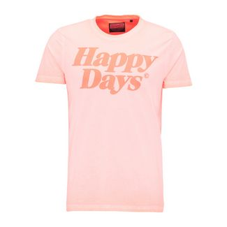 Petrol Industries T-Shirt Herren Fiery Coral