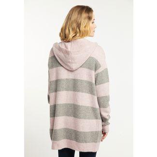 Usha Strickjacke Damen rosa grau