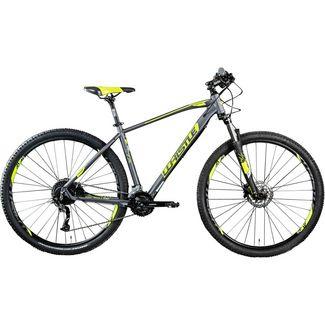 "Whistle Patwin 2052 29"" Mountainbike MTB MTB Hardtail anthrazit/neongelb"