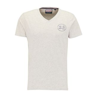 Petrol Industries T-Shirt Herren Silver Grey Melee