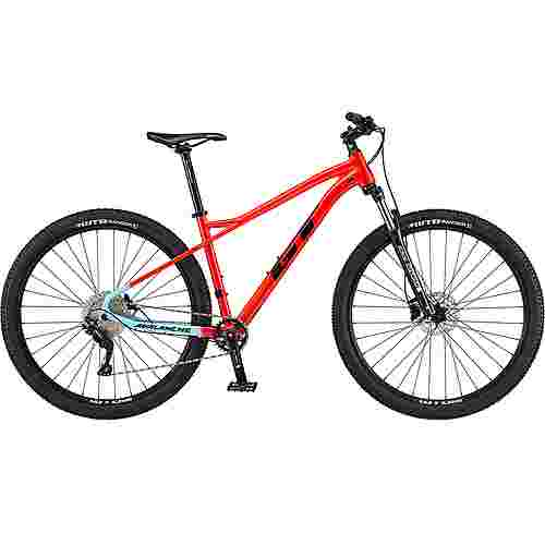GT Avalanche Comp 29 Zoll Mountainbike MTB Hardtail gloss red/skyblue/black