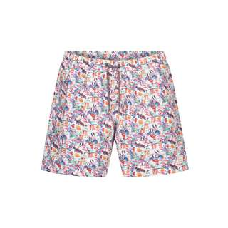 Colours & Sons Animal-Print SIMON Badeshorts Herren aquarium