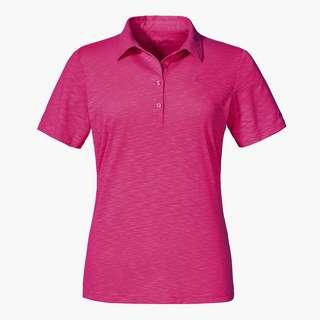 Schöffel Polo Shirt Capri1 Poloshirt Damen fandango pink