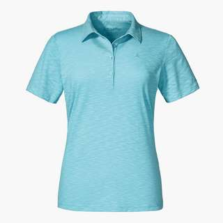 Schöffel Polo Shirt Capri1 Poloshirt Damen angel blue