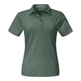 Schöffel Polo Shirt Capri1 Poloshirt Damen agave green