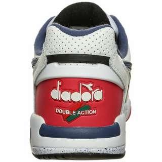 Diadora Rebound Ace Sneaker Herren neonrot / dunkelblau