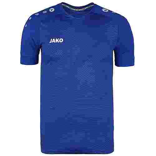 JAKO Premium Fußballtrikot Herren blau / weiß
