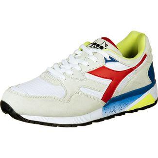 Diadora N9002 Sneaker Herren weiß / dunkelrot