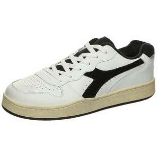 Diadora Basket MI Low Used Sneaker Herren weiß / schwarz