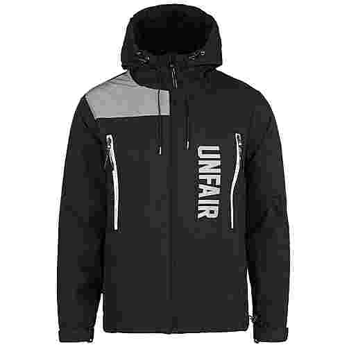 Unfair Athletics Reflective Outdoorjacke Herren schwarz