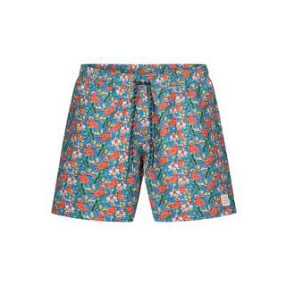 Colours & Sons Animal-Print SIMON Badeshorts Herren flamingo