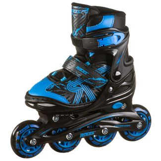ROCES Jokey 3.0 Boy Inline-Skates Kinder black-astro blue
