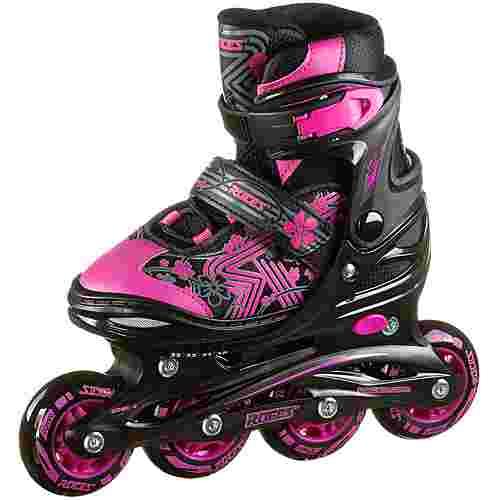ROCES Jokey 3.0 Girl Inline-Skates Kinder black-pink
