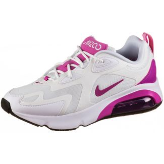 Nike Air Max 200 Sneaker Damen white-fire pink-black