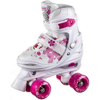 ROCES Quaddy Girl 3.0 Rollschuhe Kinder white-pink