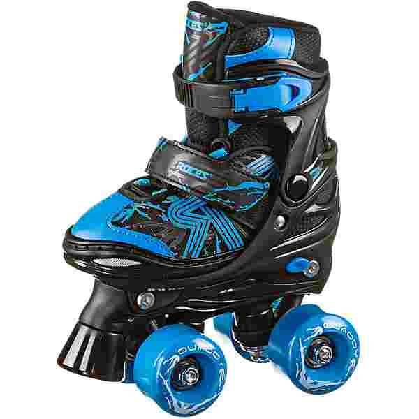 ROCES Quaddy Boy 3.0 Rollschuhe Kinder black-astro blue