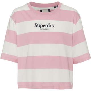 Superdry HARPER T-Shirt Damen soft pink
