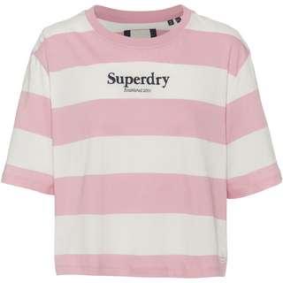 Superdry HARPER T-Shirt Damen soft pink