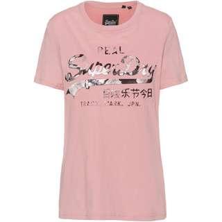 Superdry T-Shirt Damen soft pink