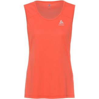 Odlo SINGLET Funktionstop Damen hot coral