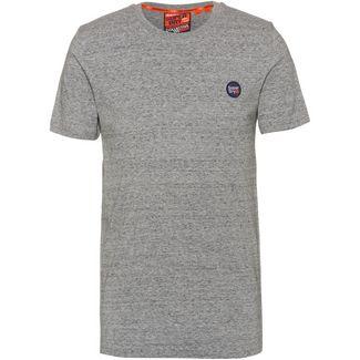 Superdry T-Shirt Herren collective dark grey grit