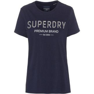 Superdry T-Shirt Damen atlantic navy