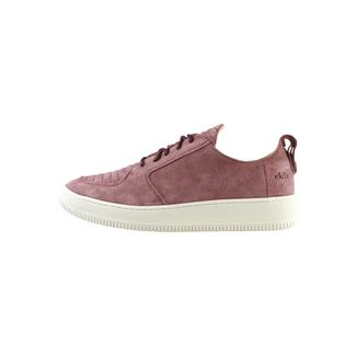EKN Footwear Argan Low Sutri Burgundy Suede Sneaker burgundy
