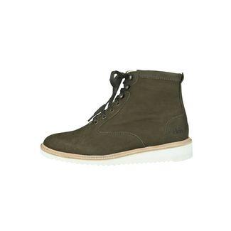 EKN Footwear Desert High Ripple Olive Nubuck Sneaker olive