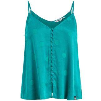 Khujo ZALTA Tanktop Damen blaugrün