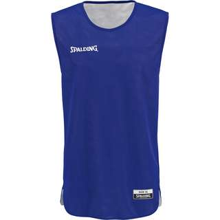 Spalding Double Face Basketball Shirt Kinder blau / weiß