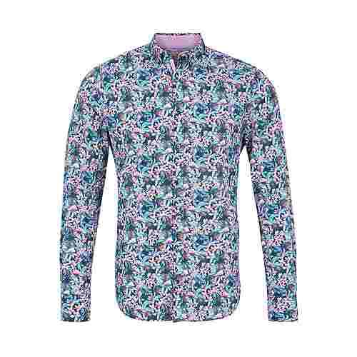 Colours & Sons Hemd Flower-Print ISAAC Langarmhemd Herren multi-flower