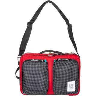 Topo Designs Global Briefcase 3-Day Laptoptasche red-black ripstop