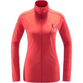 Haglöfs L.I.M Mid Jacket Fleecejacke Damen Hibiscus red