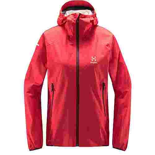 Haglöfs L.I.M PROOF Multi Jacket Hardshelljacke Damen Hibiscus red