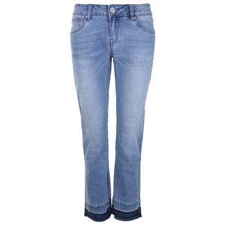 Blue Monkey Gaby 30149 Straight Fit Jeans Damen blau