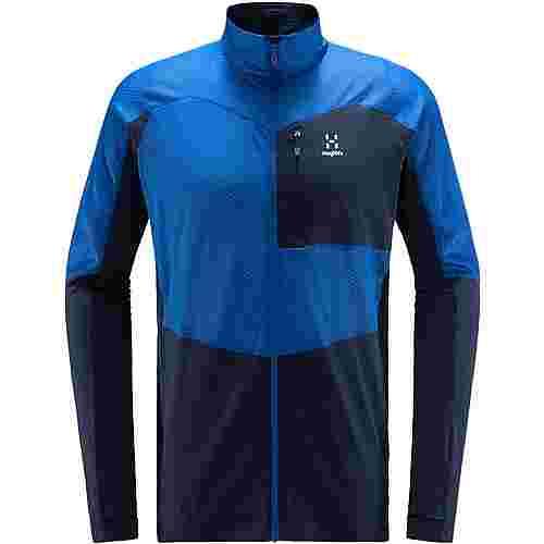 Haglöfs Sirro Mid Jacket Fleecejacke Herren Tarn blue/storm blue