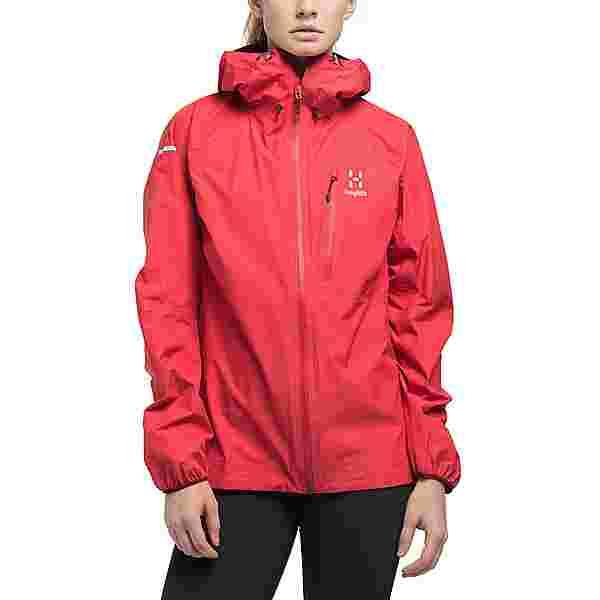 Haglöfs GORE-TEX L.I.M Jacket Hardshelljacke Damen Hibiscus red