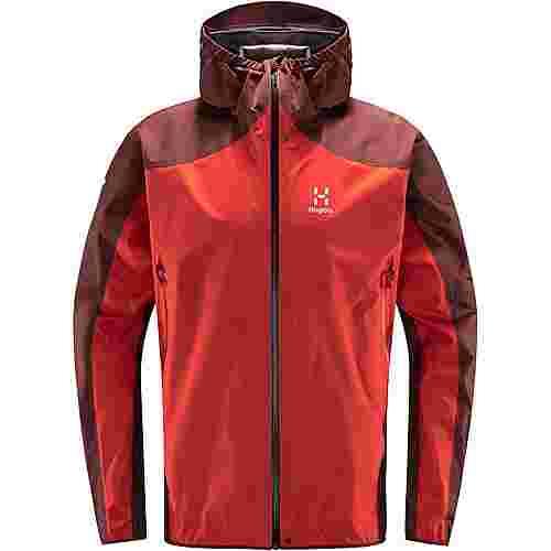 Haglöfs GORE-TEX® L.I.M Comp Jacket Hardshelljacke Herren Habanero/maroon red
