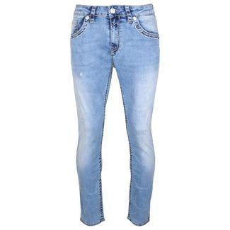 Blue Monkey Boris 4582 Straight Fit Jeans Herren blau