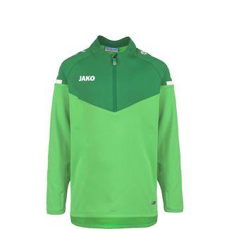 JAKO Champ 2.0 Ziptop Funktionssweatshirt Kinder grün / dunkelgrün
