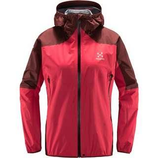 Haglöfs GORE-TEX® L.I.M Comp Jacket Hardshelljacke Damen Hibiscus red/maroon red