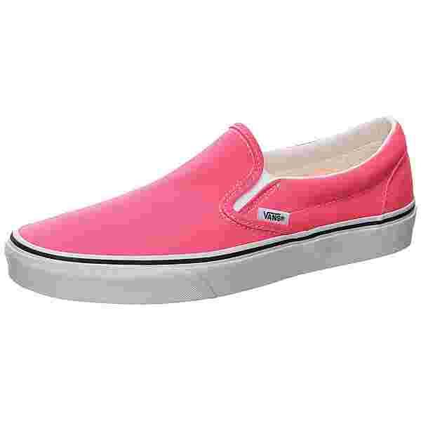 Vans Classic Slip-On Sneaker Herren pink / weiß