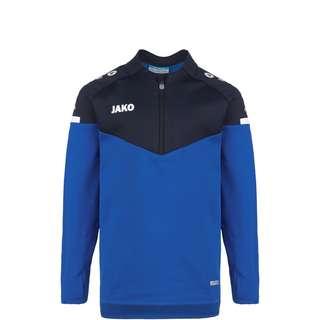 JAKO Champ 2.0 Ziptop Funktionssweatshirt Kinder blau / dunkelblau