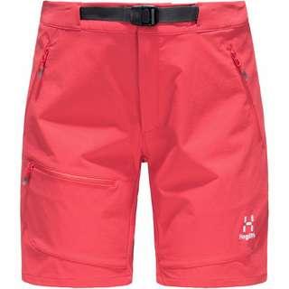 Haglöfs Lizard Shorts Softshellhose Damen Hibiscus red
