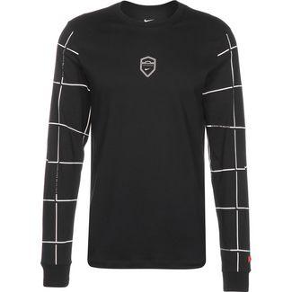 Nike LeBron Dry Langarmshirt Herren schwarz / weiß